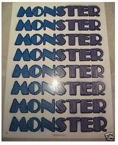 Monster 06 Eine - Blue/Purple