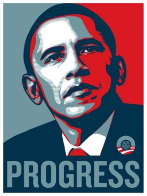 Shepard Fairey, Obama Progress