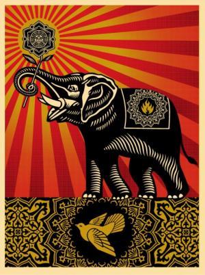 Shepard Fairey, Obey Elephant