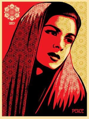 Shepard Fairey, Peace Mujer