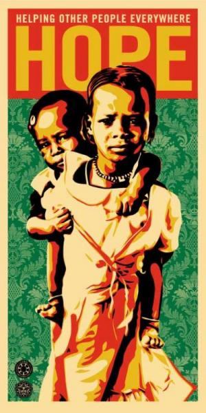 Shepard Fairey, Hope for Darfur