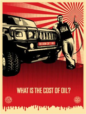 Shepard Fairey, Cost of Oil