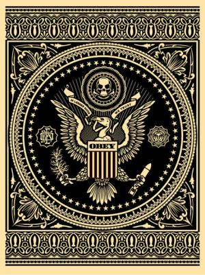 Shepard Fairey, Presidential Seal Black