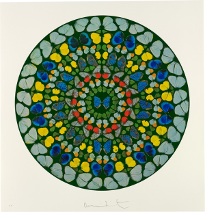 Damien Hirst, Psalm Print: Diligam te, Domine