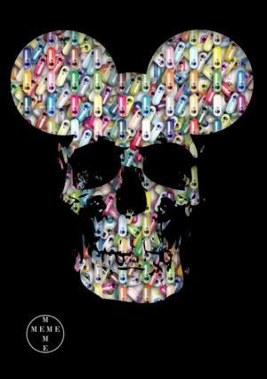 Chemical Meme Skull