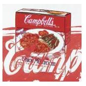 CAMPBELL'S ONION MUSHROOM SOUP BOX