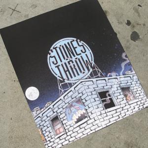 Stones Throw Sign in Los Gates