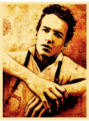 Joe Strummer Canvas Print